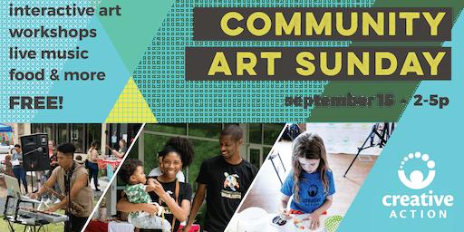 Community Art Sunday: Back to School Creative Reuse