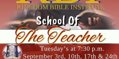 School of the Teachers Intensive