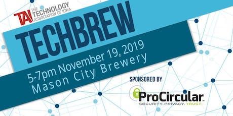 TechBrew November tickets