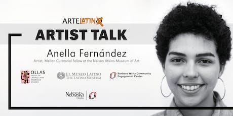 ArteLatinX Artist Talk : Anella Fernández tickets