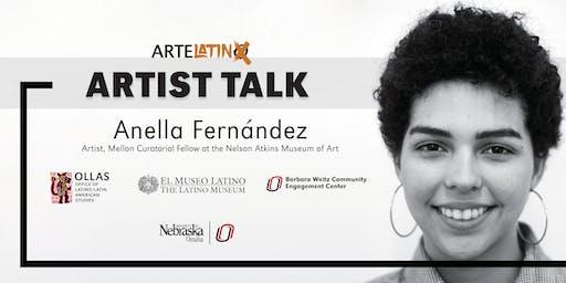ArteLatinX Artist Talk : Anella Fernández