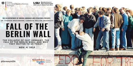 Commemoration of the Fall of the Berlin Wall tickets