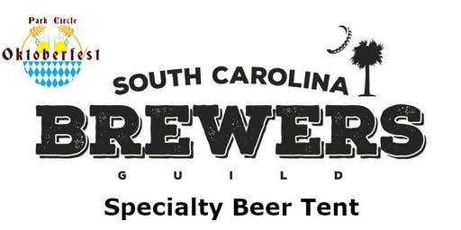 SC Brewer's Guild Tent at PC Oktoberfest