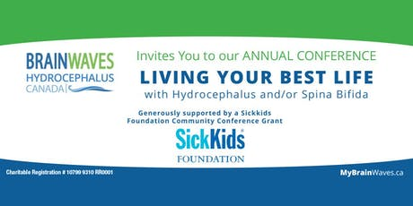 LIVING YOUR BEST LIFE with Hydrocephalus and/or Spina Bifida tickets