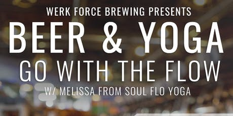 Werk Force Brewing Beer + Yoga 10/19 tickets