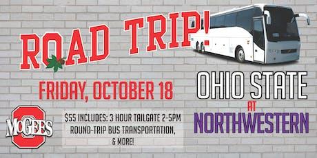 OSU at Northwestern Bus Trip tickets
