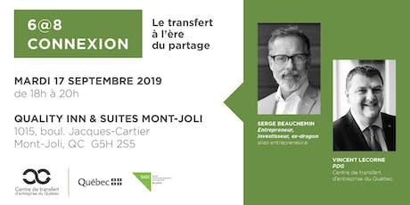 Les Rdv du repreneuriat - 6@8 Connexion au Bas-St-Laurent billets