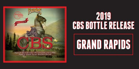 Founders 2019 CBS Release - GRAND RAPIDS tickets