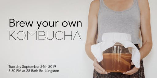Brew your own Kombucha - Workshop and Kit
