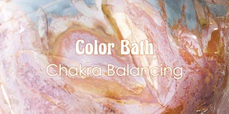 Color Bath Chakra Balancing tickets