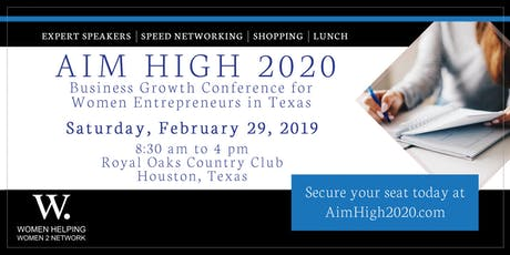 Aim High 2020 Speed Networking Conference tickets