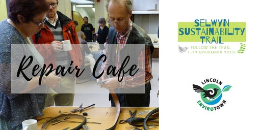 Repair Cafe - Selwyn Sustainability Trail