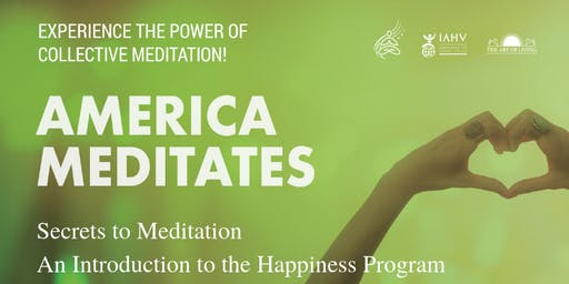 Secrets to Meditation: An intro to the Happiness Program