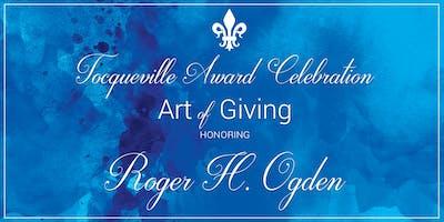 Alexis de Tocqueville Gala honoring Roger H. Ogden