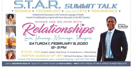 S.T.A.R. Summit Talk : Where Are We Now With Relationships ? tickets