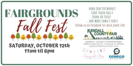 Fairgrounds Fall Fest Vendor Sign-up tickets
