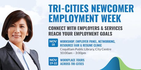 Tri-Cities Newcomer Employment Week 2019 tickets