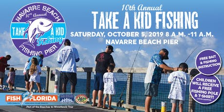 10th Annual Take a Kid Fishing tickets