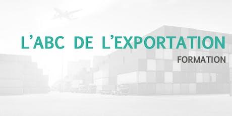 L'ABC de l'exportation  billets
