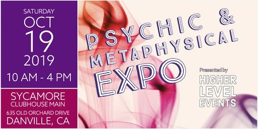 Psychic & Metaphysical Expo OCT 19