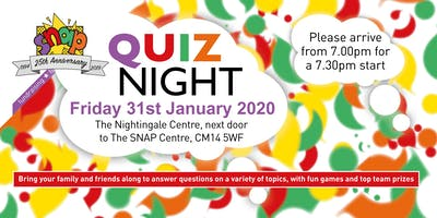 SNAP Quiz Night