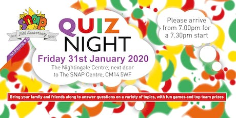 SNAP Quiz Night tickets