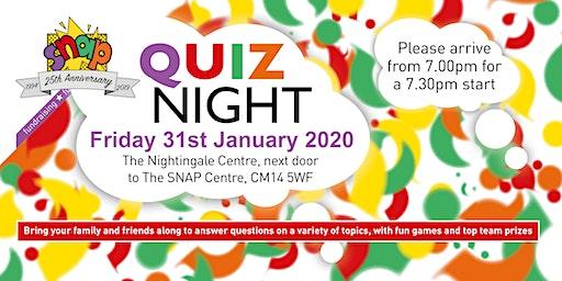 SNAP Quiz Night
