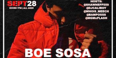 BOE SOSA & FRIENDS live in Fresno, Ca
