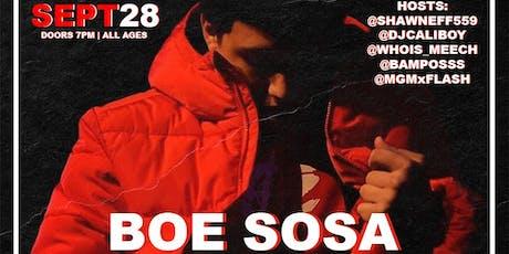 BOE SOSA & FRIENDS live in Fresno, Ca tickets