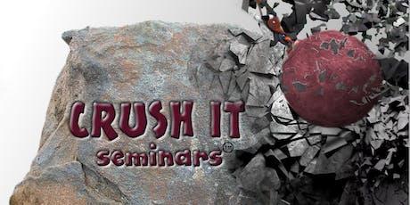 Crush It Prevailing Wage Seminar September 25, 2019 - Gardena tickets