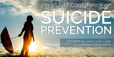 2019 UVU Conference on Suicide Prevention entradas