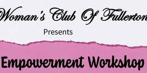 Free Woman's Empowerment Workshop