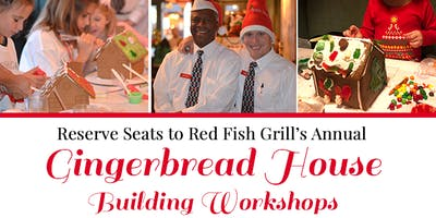 Red Fish Grill's Annual Gingerbread Building Workshop!
