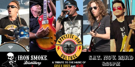 "Appetite for Voltage ""November Rain"" Show (GnR & AC/DC Tribute)@ Iron Smoke"
