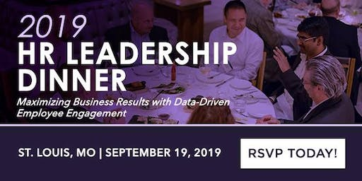 2019 Human Capital Leadership Dinner: Maximizing Business Results with Data