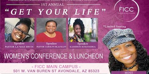 FICC WOMENS CONFERENCE: GET YOUR LIFE