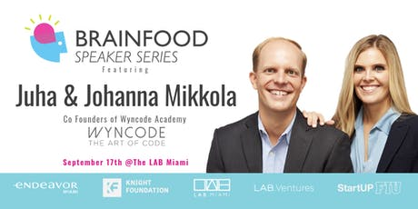 Brainfood Speaker Series Featuring Juha & Johanna Mikkola tickets