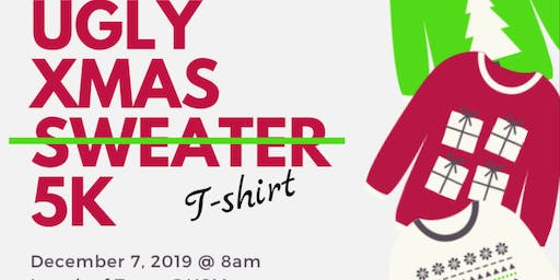 Girl Scout Troop 6761 Ugly Xmas T-shirt 5k