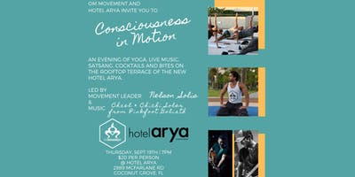 Consciousness in Motion Movement Class at Hotel Arya
