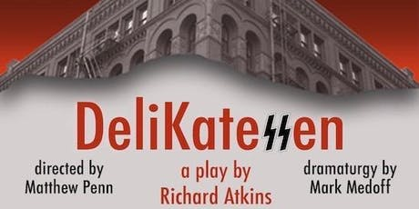 """Invite to an industry read of the play, """"DeliKateSSen"""" tickets"""