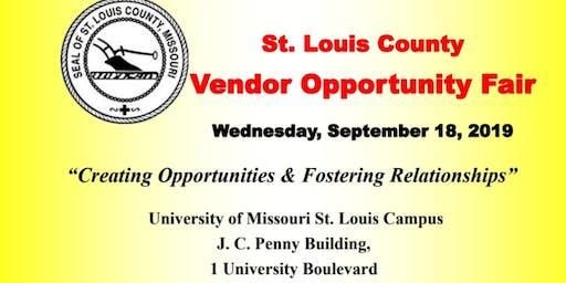St. Louis County Vendor Opportunity Fair