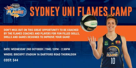 Brydens Sydney Uni Flames Shooting Camp tickets