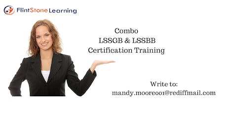 Combo LSSGB & LSSBB Bootcamp Training in Bangor, ME tickets