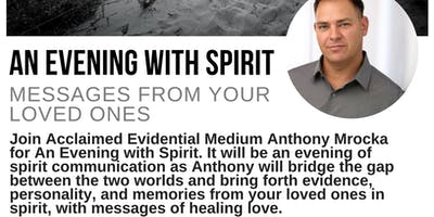 An Evening With Spirit: Messages From Your Loved Ones - Hackettstown, NJ