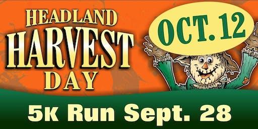 Headland Harvest Day