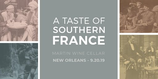 A Taste of Southern France: New Orleans