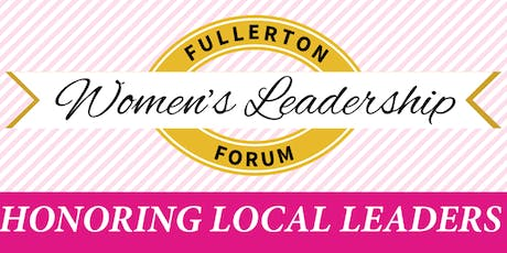 15th Annual Fullerton Women's Leadership Forum tickets