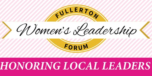 15th Annual Fullerton Women's Leadership Forum