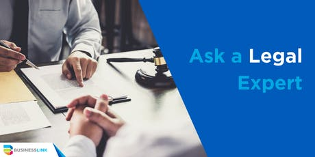 Ask a Legal Expert - Oct 16/19 tickets