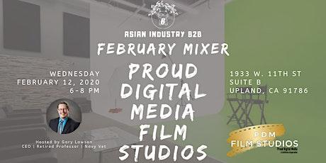AIB2B February Mixer Tour of Proud Media Studios tickets